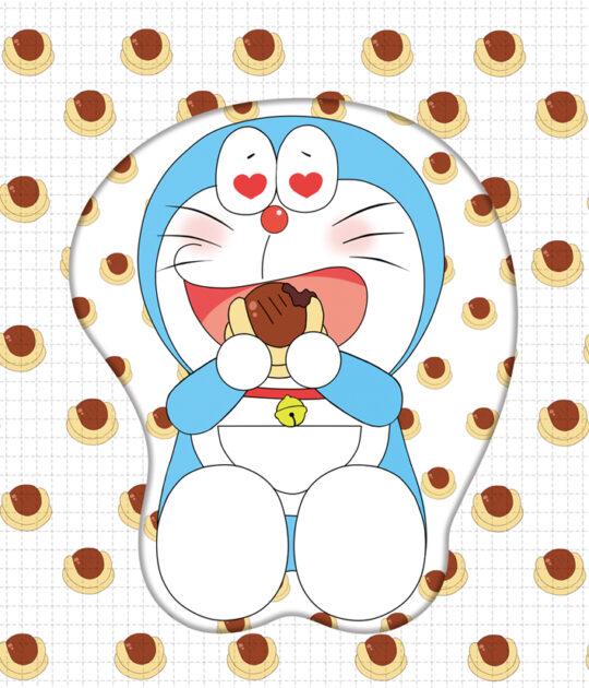 Doraemon 3D Oppai Mouse Pad