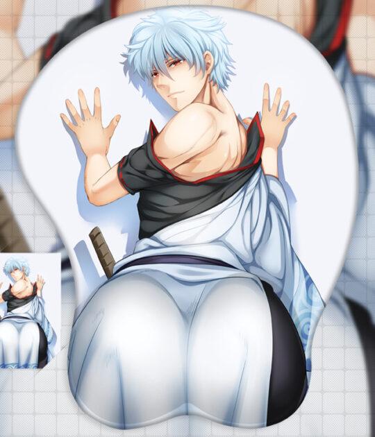 Sakata Gintoki 3D Butt Mouse Pad
