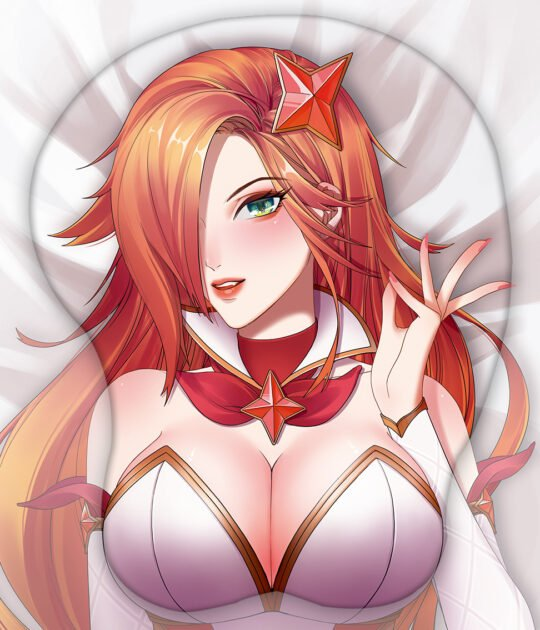 Star Guardian Miss Fortune 3D Oppai Mouse Pad