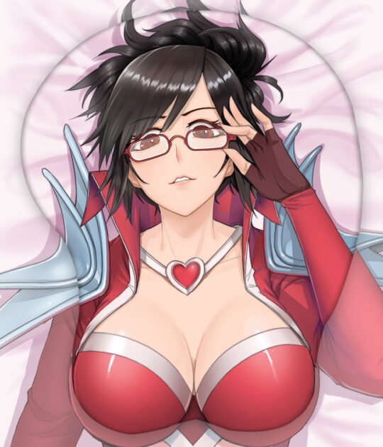The Night Hunter Vayne 3D Oppai Mouse Pad