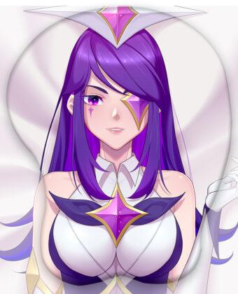 Star Guardian Syndra 3D Oppai Mouse Pad