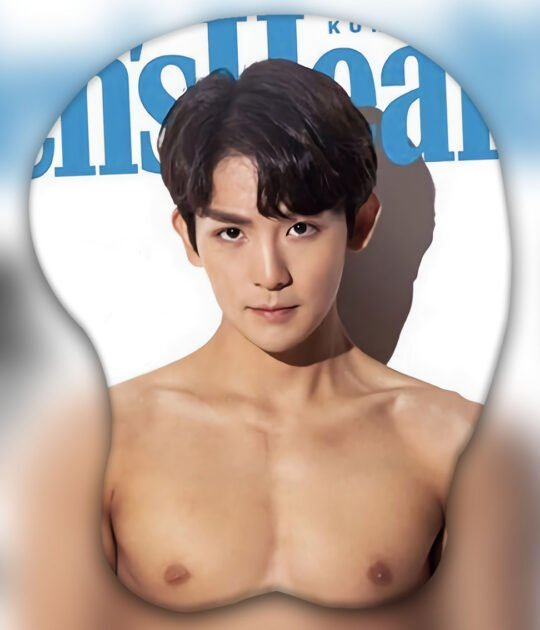Ricky (TEEN TOP) 3D Oppai Mouse Pad