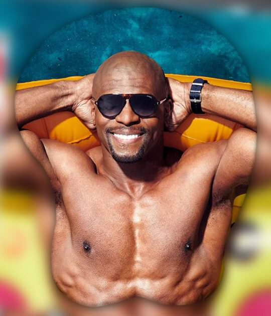 Terry Crews 3D Oppai Mouse Pad