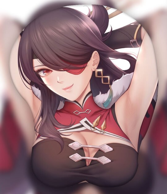Beidou 3D Oppai Mouse Pad Ver1