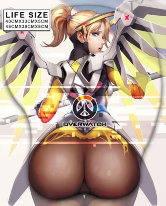 Mercy Life Size Butt Mouse Pad
