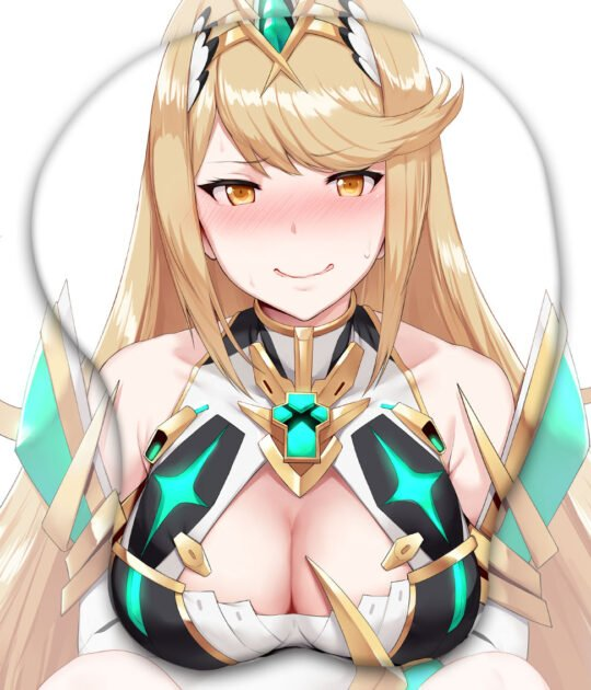 Mythra 3D Oppai Mouse Pad