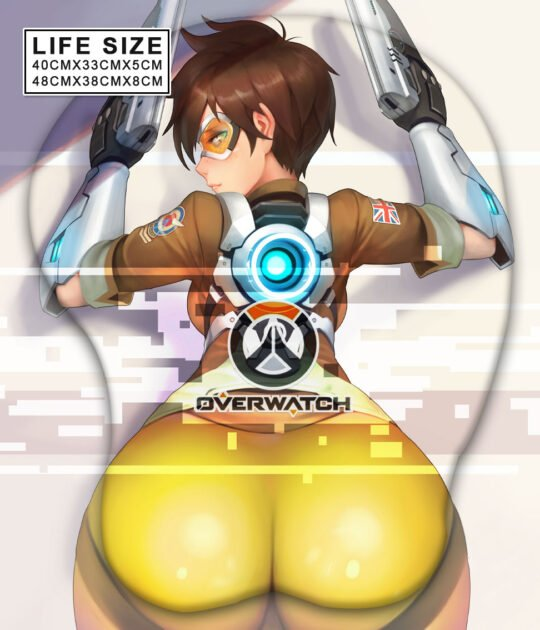Tracer Life Size Butt Mouse Pad