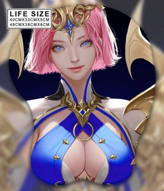 Goddess Life Size Oppai Mousepad