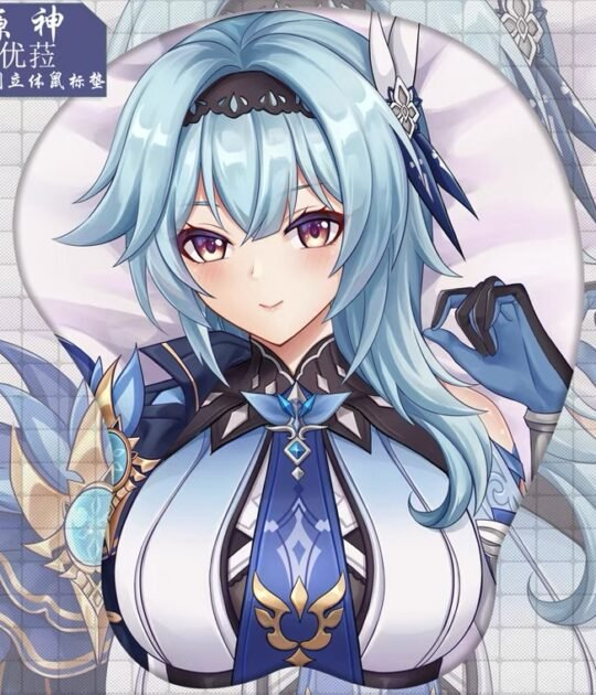 Eula 3D Oppai Mouse Pad Ver3